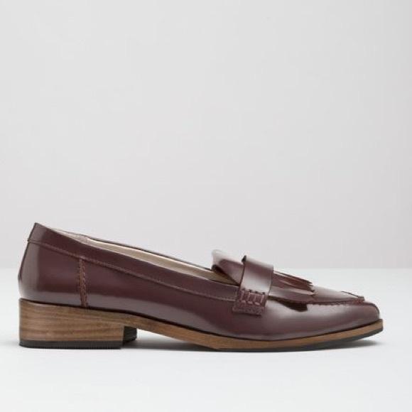 8ea28817103 Boden Shoes - BODEN FRINGE LEATHER PEWTER LOAFERS